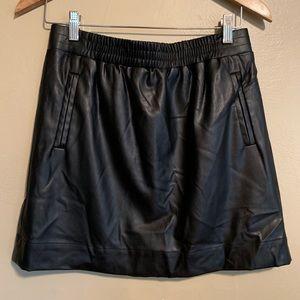LOFT | Faux Leather Skirt | MP